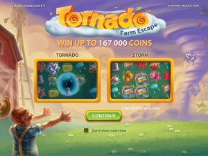 Tornado Farm Escape gokkast