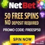 50 gratis spins bij NetBet