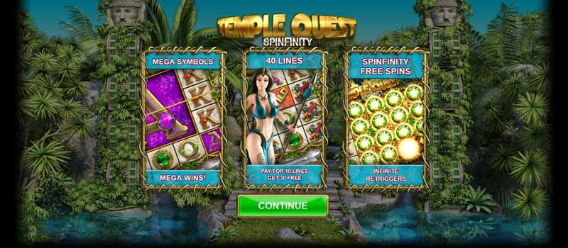 Temple Quest free spins