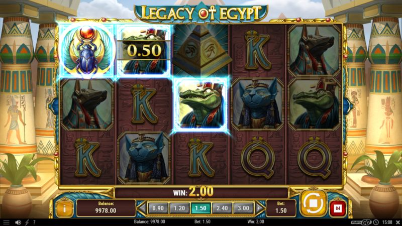 legacy of egypt gokkast play n go