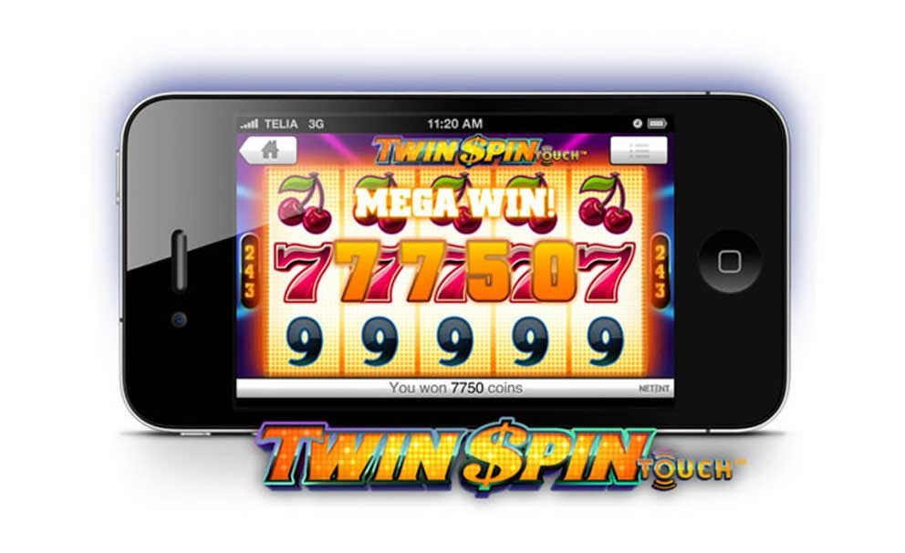 Twin Spin mobiel