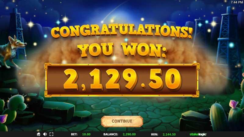 Black Gold Megaways™ big win