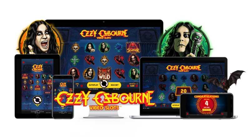 Ozzy Osbourne videoslots NetEnt