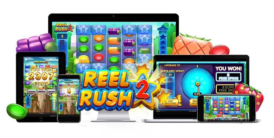 NetEnt nieuwe gokkasten Reel Rush 2