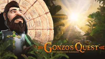 Gonzo's Quest: nieuwe  gokkasten NetEnt