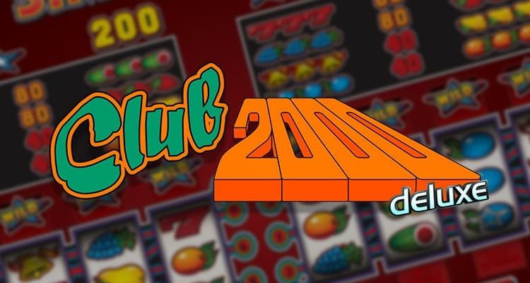 Stakelogic fruitautomaten: Club 2000 Deluxe