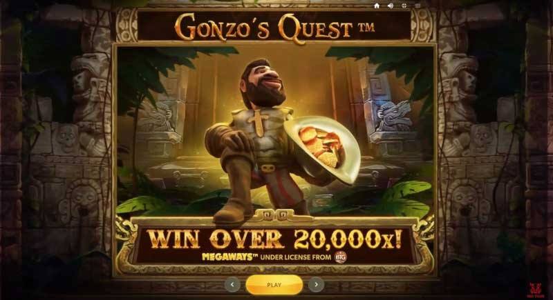 Gonzo's Quest Megaways gokkast