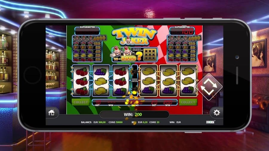 Stakelogic fruitautomaten: Twin Joker mobiel