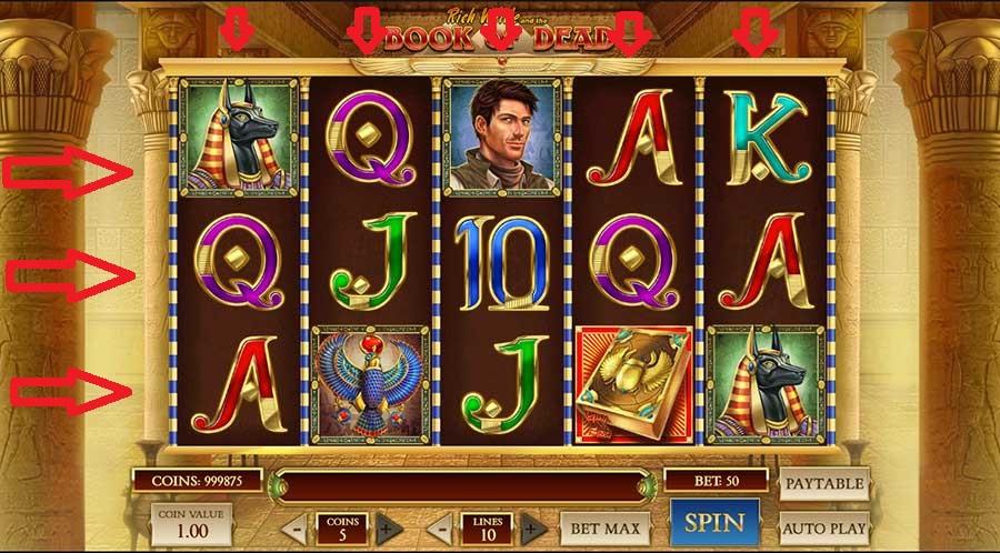 Uitleg over gokkasten: rollen en rijen